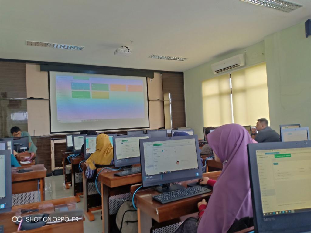 Pelatihan Website Puskesmas
